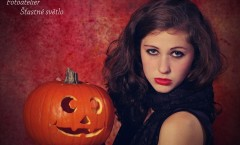 Portrét Halloween