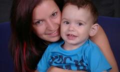 Maminka s  chlapcem