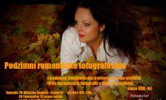 Podzimní romantické fotografování